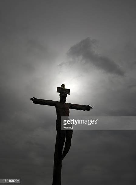 Cloudy Sky and Cross