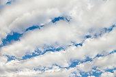 Cloudy sky pattern