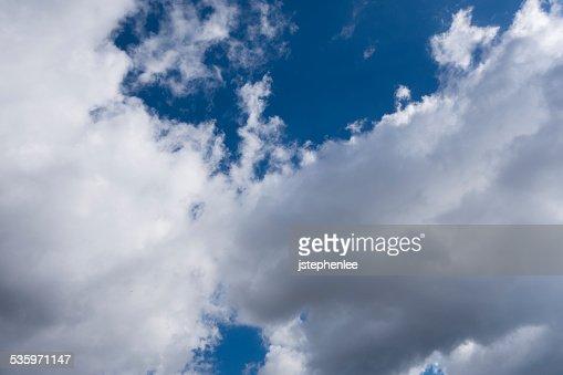 Cloudy Sky : Stock Photo
