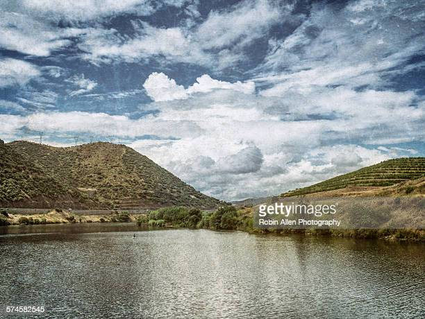 Cloudy Sky Reflected in Douro River