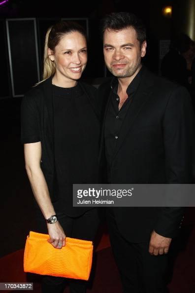 Clovis Cornillac and Lilou Fogli attend 'La Grande Boucle' Paris Premiere at Gaumont ChampsElysees on June 11 2013 in Paris France