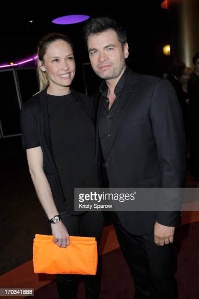 Clovis Cornillac and Lilou Fogli attend the 'La Grande Boucle' Paris Premiere on June 11 2013 in Paris France