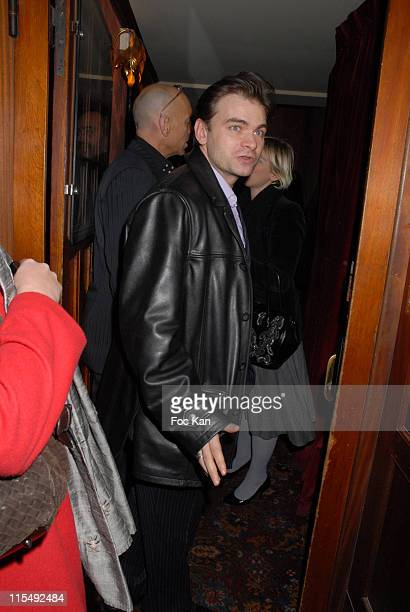 Clovis Cornillac attends the Chivas Royal Christmas 2007 Party at the Castel Club on December 6 2007 in Paris France