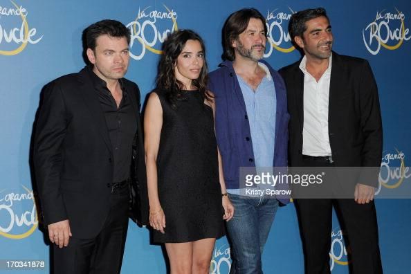 Clovis Cornillac Elodie Bouchez Laurent Tuel and Ary Abittan attend the 'La Grande Boucle' Paris Premiere on June 11 2013 in Paris France