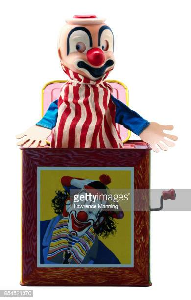Clown Painted on a Jack-in-the-Box