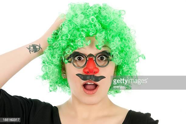 portrait de clown