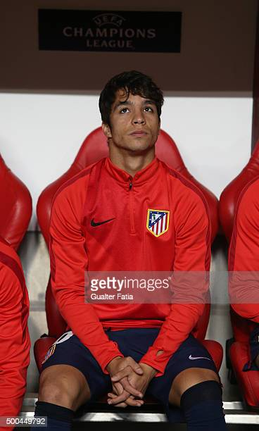 Club Atletico de Madrid's midfielder Oliver Torres during the UEFA Champions League match between SL Benfica and Club Atletico de Madrid at Estadio...