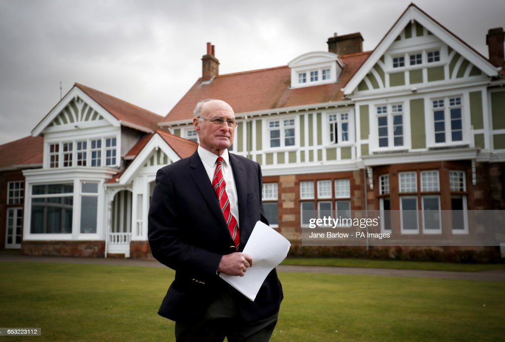 Club captain Henry Fairweather announces that women will be admitted as members of Muirfield Golf Club after a membership ballot was held by The Honourable Company of Edinburgh Golfers.