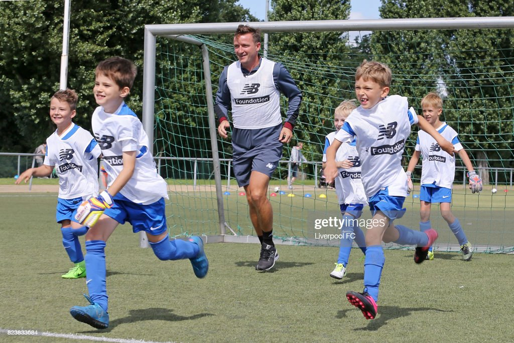 LFC Foundation And Hertha BSC Soccer Camp