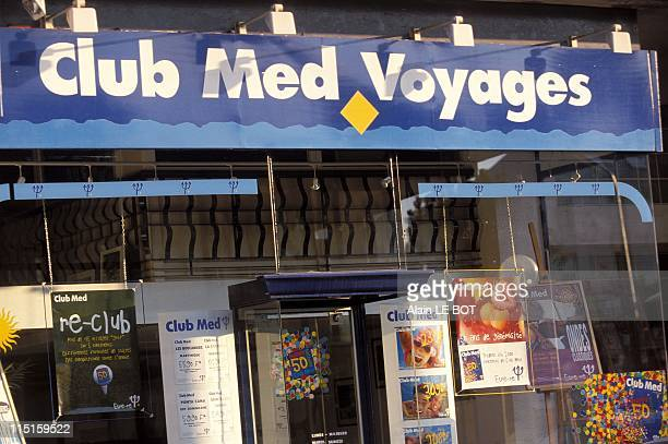 'Club Med Voyages' shop in France in August 2000