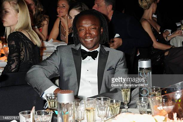 Club owner Freddie Achom attends the 2012 amfAR's Cinema Against AIDS during the 65th Annual Cannes Film Festival at Hotel Du Cap on May 24 2012 in...