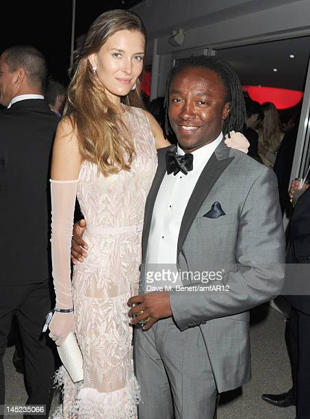 Club owner Freddie Achom attends the 2012 amfAR's Cinema Against AIDS after party during the 65th Annual Cannes Film Festival at Hotel Du Cap on May...
