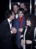 Club owner Steve Rubell fashion designer Halson actress/singer Liza Minnelli and producer Jack Haley Jr attend Studio 54's New Year's Eve Party on...