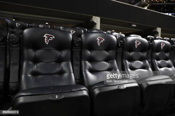 Club seats before the game against Atlanta Falcons and New Orleans Saints on December 07 2017 at the MercedesBenz Stadium in Atlanta GA