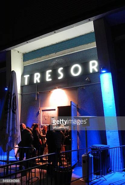 Club Tresor in a former power plant in Koepenicker Strasse in Berlin