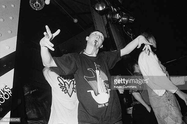 Clubbers at The Hacienda in Manchester for a popular acid house night 'Hot' 28th September 1988