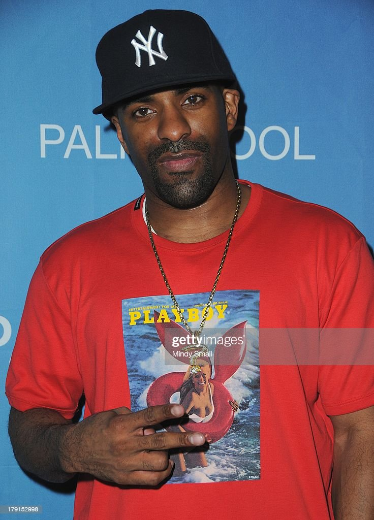 <a gi-track='captionPersonalityLinkClicked' href=/galleries/search?phrase=DJ+Clue&family=editorial&specificpeople=211351 ng-click='$event.stopPropagation()'>DJ Clue</a> arrives at 'Ditch Saturdays' at Ditch Pool & Dayclub at Palms Casino Resort on August 31, 2013 in Las Vegas, Nevada.