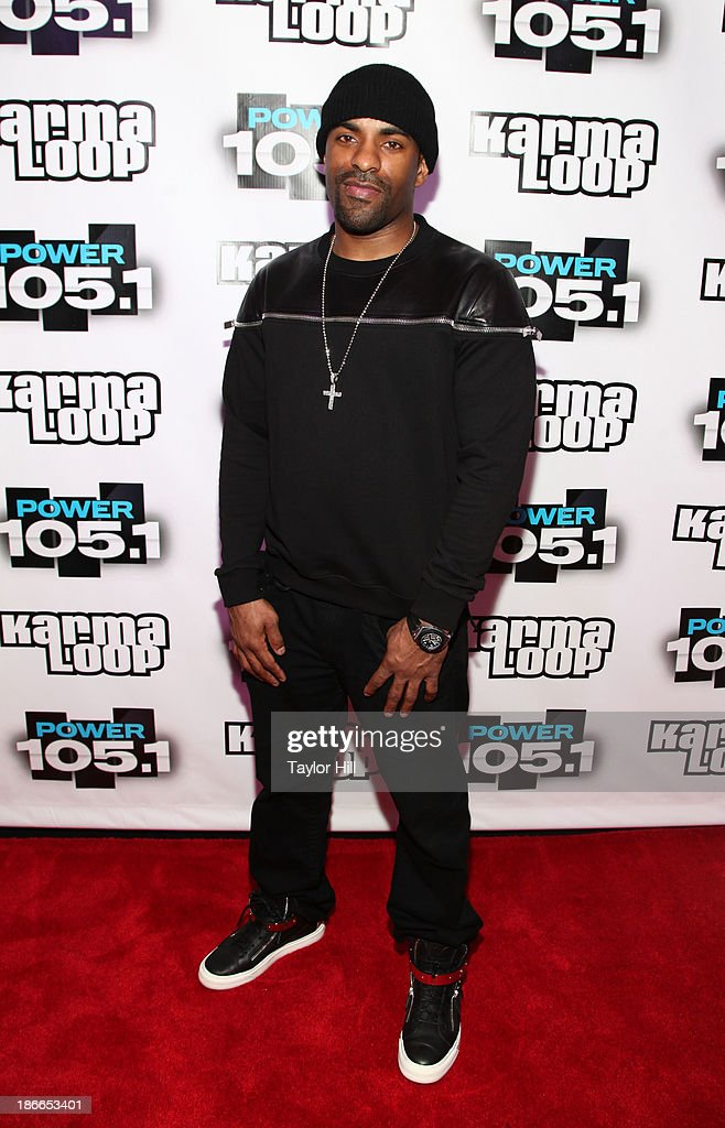 DJ Clue attends Power 105.1's Powerhouse 2013, presented by Play GIG-IT, at Barclays Center on November 2, 2013 in New York City.