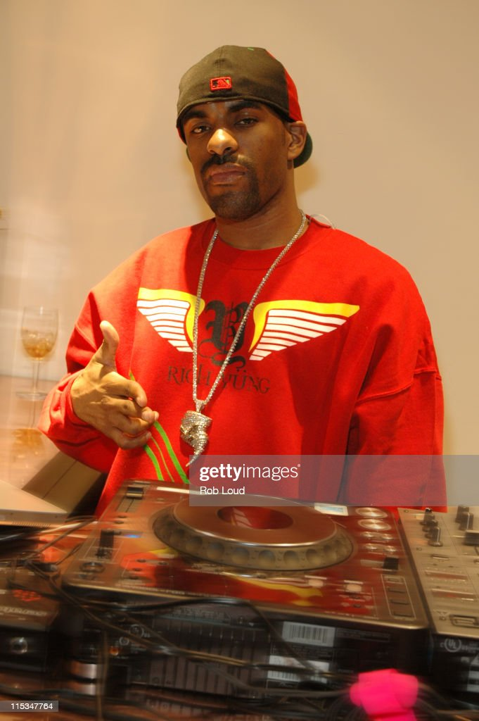 DJ Clue during AG SOHO Grand Opening Party at AG Soho in New York City New York United States