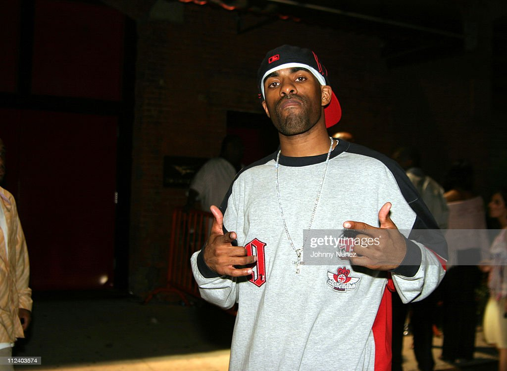 DJ Clue during Celebrities Party at Cherry Lounge at Cherry Lounge in New York City New York United States
