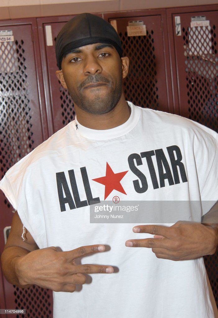 DJ Clue during CMX Sports Celebrity Christmas Basketball Game at Atlantic City High School in Atlantic City New Jersey United States