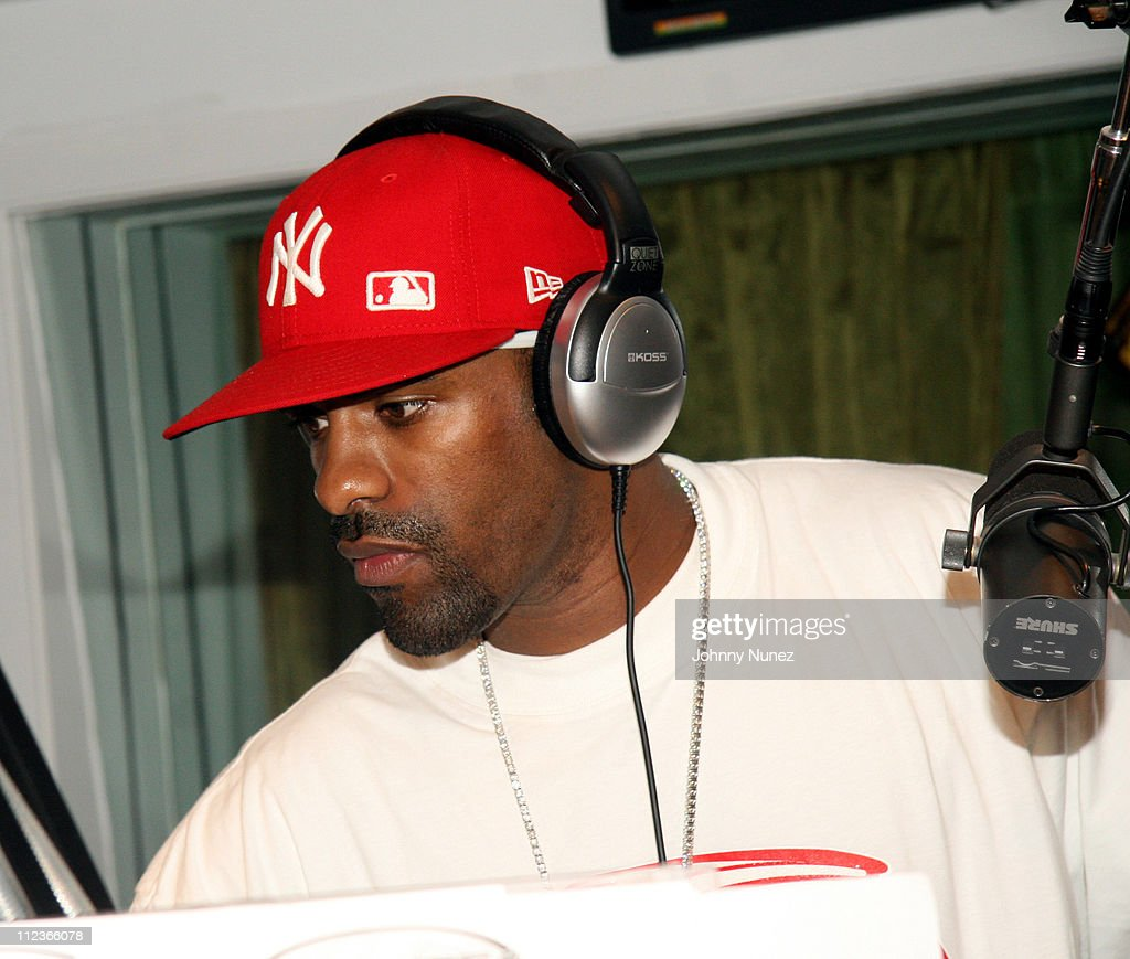 DJ Clue during DJ Clue First Day at 1051 FM Celebration at Power 1051 Station in New York City New York United States