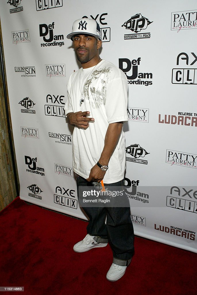 DJ Clue during Ludacris 'Release Therapy' Launch Party Presented by AXE CLIX @ Element Arrivals at Element in New York City New York United States