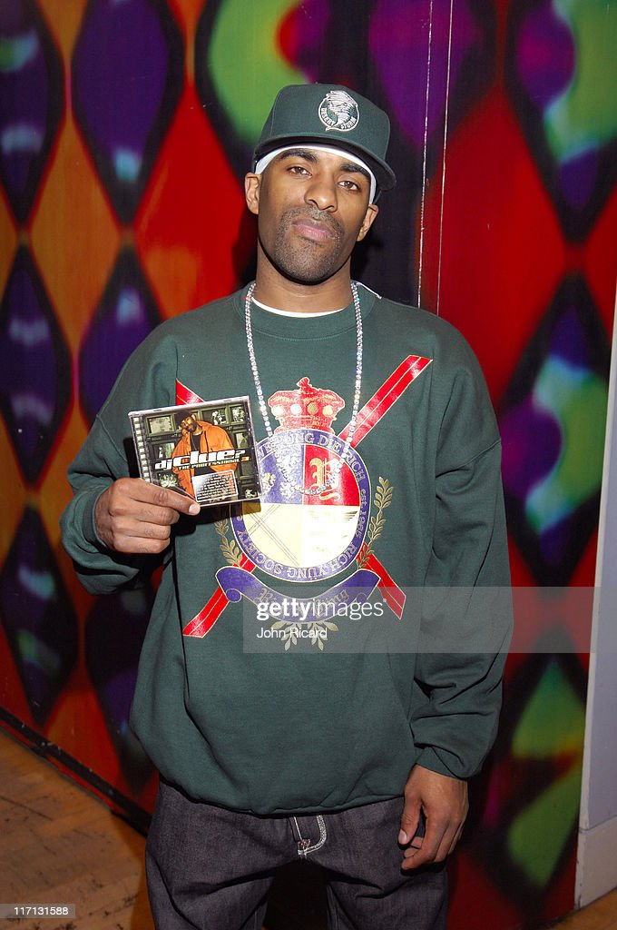 DJ Clue during Nas Juelz Santana and Fabolous Visit MTV's Sucker Free December 12 2006 at MTV Studios Times Square in New York City New York United...