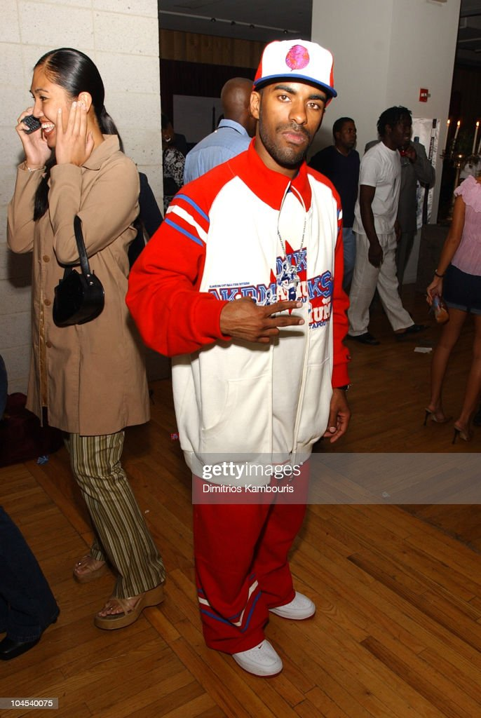 DJ Clue during Stuff Magazine Celebrates the Launch of Rocawear's Fall Ad Campaign at Metropolitan Pavilion in New York City New York United States