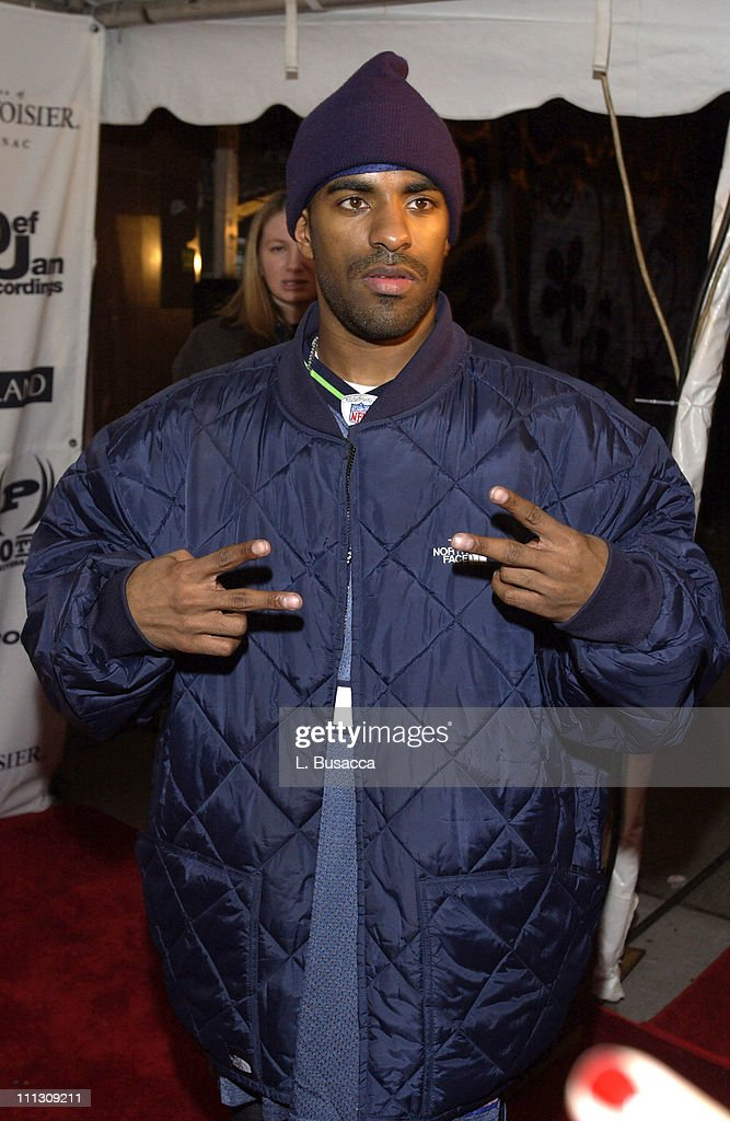 DJ Clue during The Island Def Jam/Courvoisier Holiday/Charmbracelet Release Party at Capitale in New York City New York United States