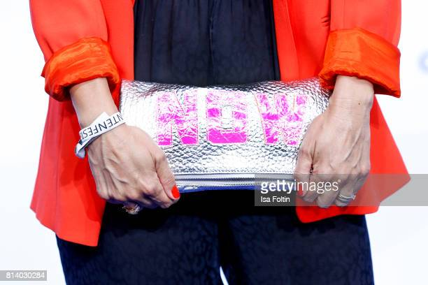 Clutch of German actress Carolina Vera as a detail during the summer party 2017 of the German Producers Alliance on July 12 2017 in Berlin Germany