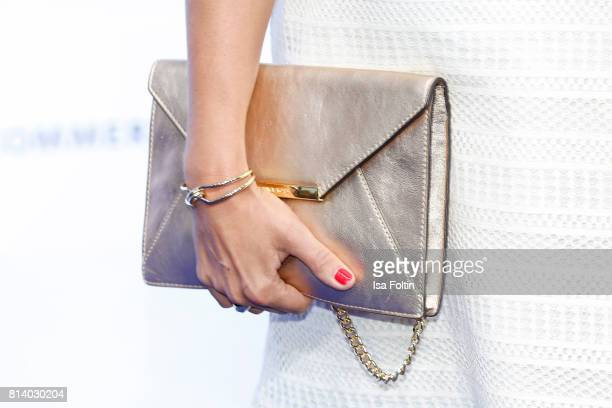 Clutch of German actress Jessica Schwarz as a detail during the summer party 2017 of the German Producers Alliance on July 12 2017 in Berlin Germany