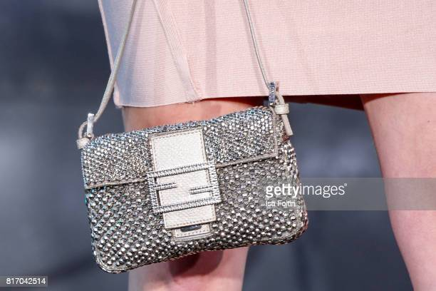 Clutch of Influencer Lisa Banholzer as a detail during the 'Atomic Blonde' World Premiere at Stage Theater on July 17 2017 in Berlin Germany