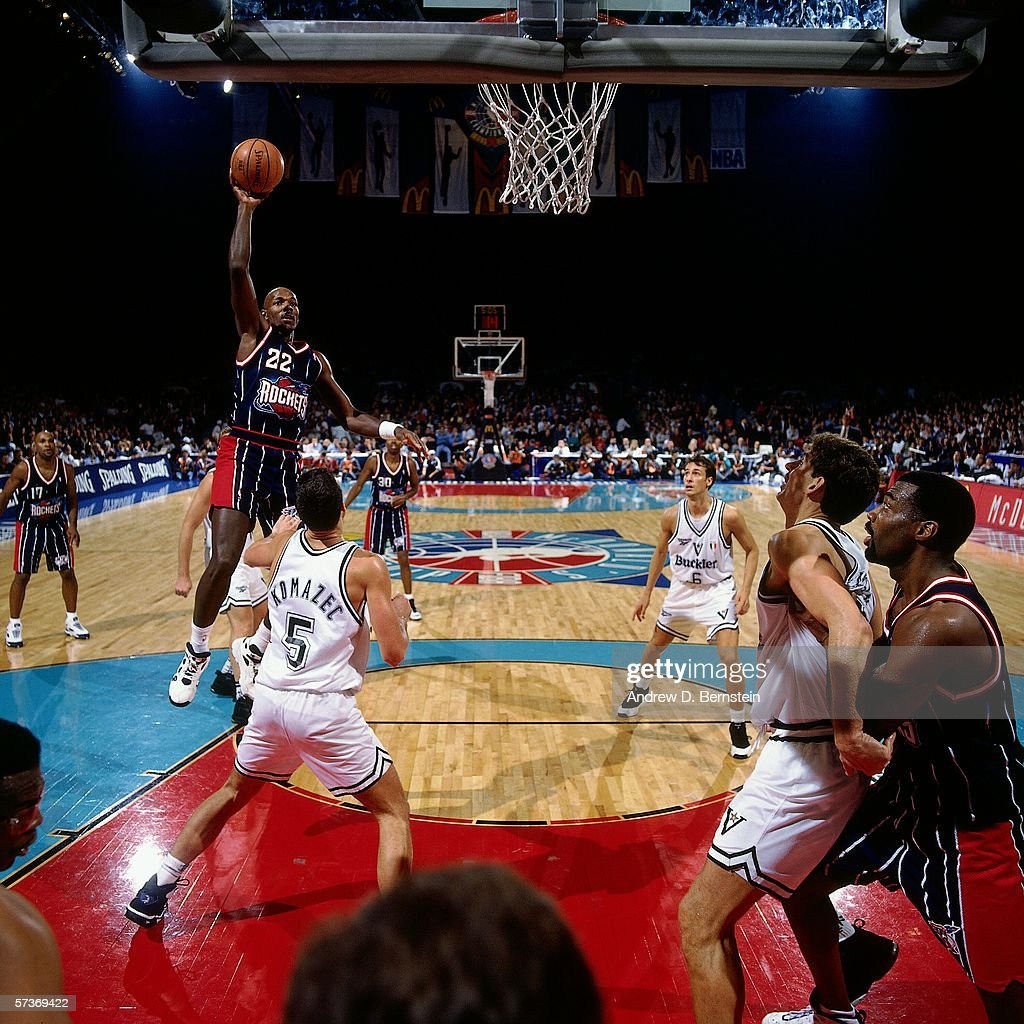 1995 McDonalds Championship Buckler Bologna v Houston Rockets