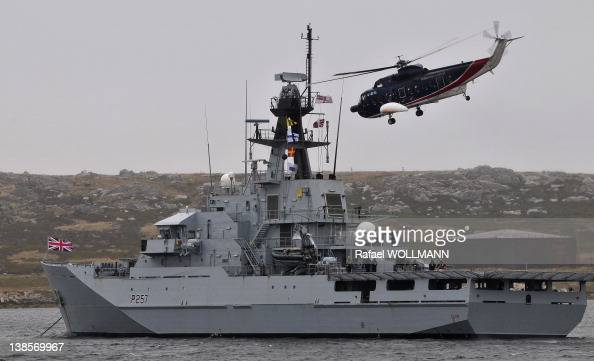 Clyde during a military exercise to show the Governor it's capabilities Boats helicopters were also used on January 26 2012 in Port Stanley Falklands...