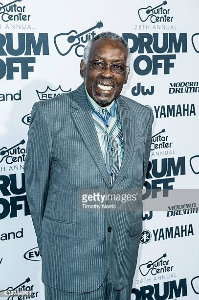 Clyde Stubblefield attends Guitar Center's 28th Annual DrumOff at The Novo by Microsoft on January 14 2017 in Los Angeles California