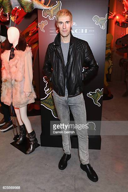 Clym Evernden attends Coach House Regent Street Launch Party on November 24 2016 in London England