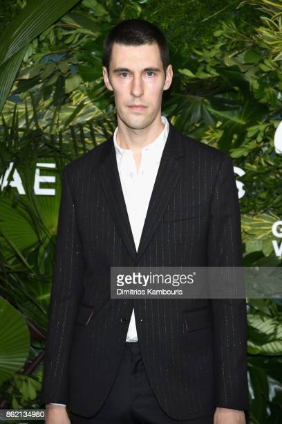 Clym Evernden attends the 11th Annual Golden Heart Awards benefiting God's Love We Deliver on October 16 2017 in New York City