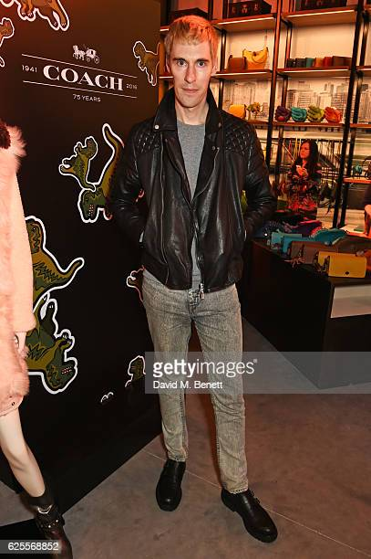 Clym Evernden attends the launch of Coach House Regent Street on November 24 2016 in London England
