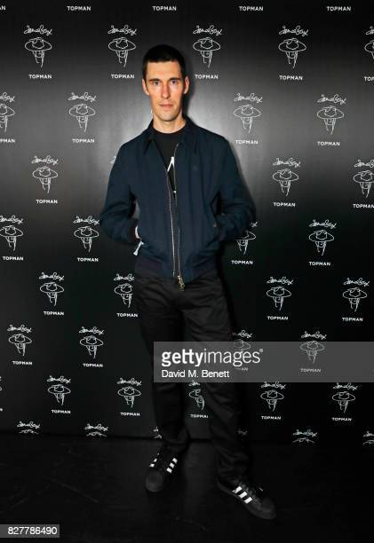 Clym Evernden attends the launch of James Bay's new Topman collection at The Ace Hotel on August 8 2017 in London England