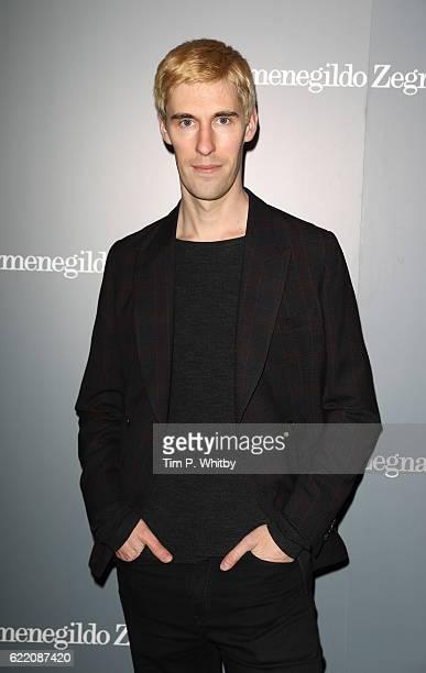 Clym Evernden attends the opening of Ermenegildo Zegna new boutique in London at Ermenegildo Zegna Boutique on November 9 2016 in London England