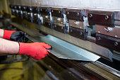 Cnc metal press machine photo shoot