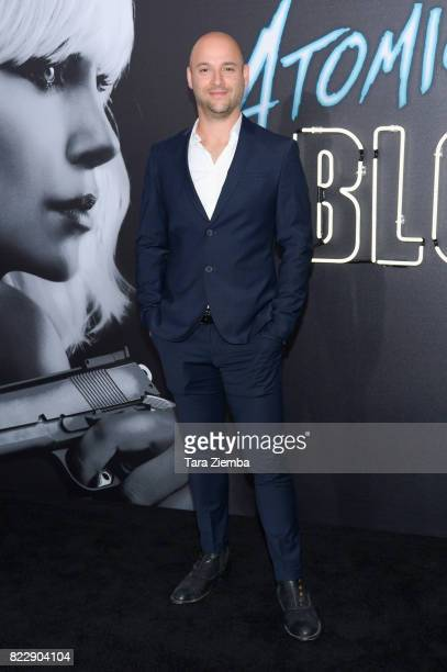 Cnematographer Jonathan Sela attends Focus Features' 'Atomic Blonde' at The Theatre at Ace Hotel on July 24 2017 in Los Angeles California