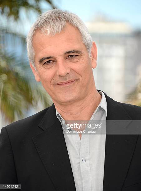 Co Director Laurent Cantet poses at the '7 Dias En La Habana' Photocall during the 65th Annual Cannes Film Festival at Palais des Festivals on May 23...