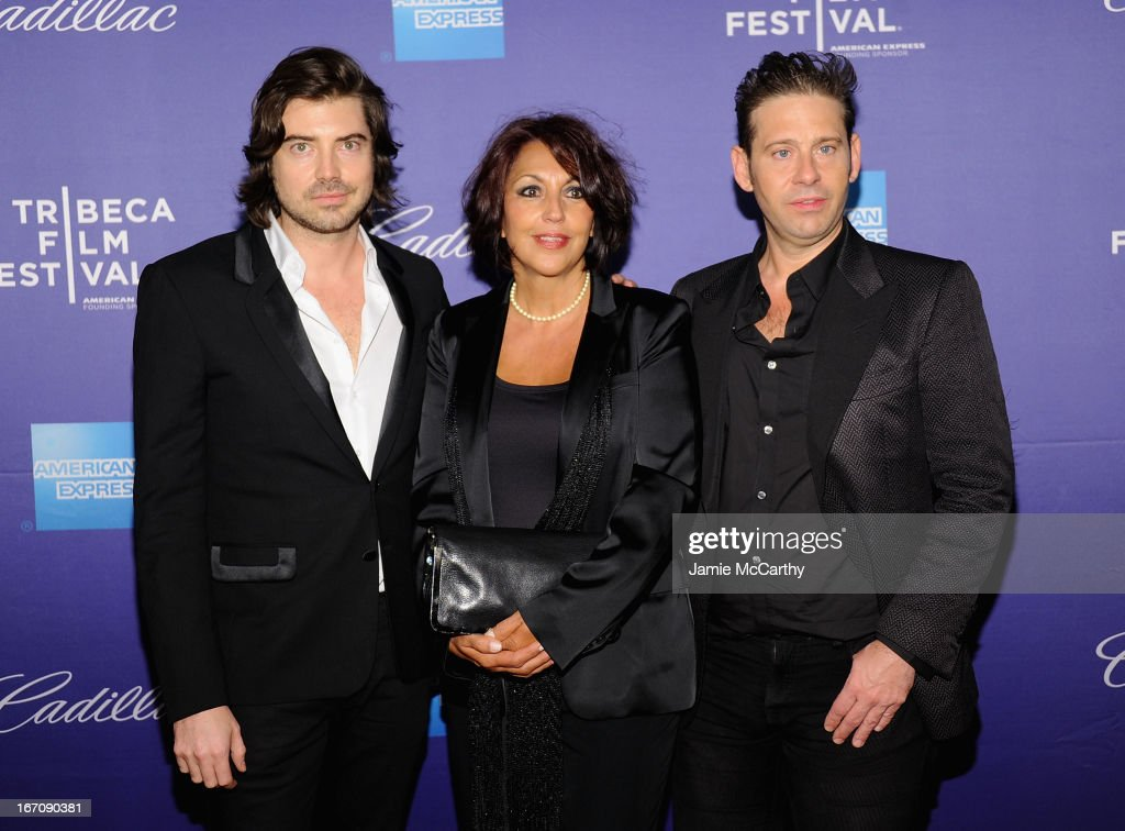 Co director Victor Kubicek,Eleanor Squillari and co director Derek Anderson attend the screening of 'In God We Trust' during the 2013 Tribeca Film Festival at SVA Theater on April 19, 2013 in New York City.