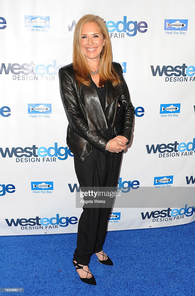 Co Founder and Chief Merchandising Officer of onekingslane Susan Feldman attends the WestEdge Design Fair opening night benefiting Heal the Bay at Barker Hangar on October 3, 2013 in Santa Monica, California.