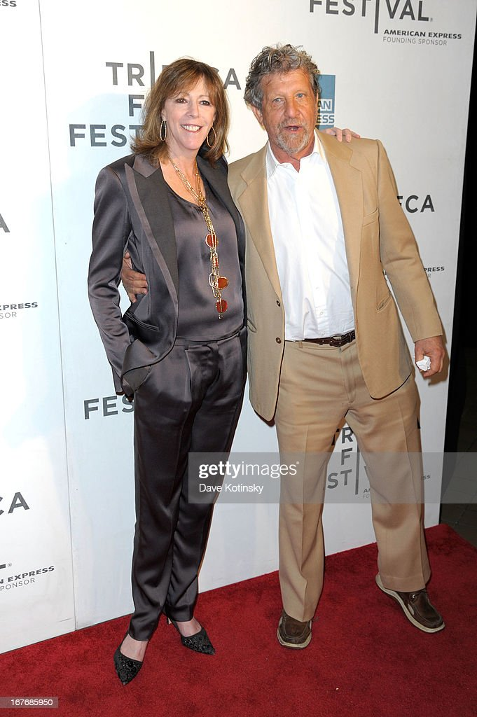 Co Founder of the Tribeca Film Festival, <a gi-track='captionPersonalityLinkClicked' href=/galleries/search?phrase=Jane+Rosenthal&family=editorial&specificpeople=202835 ng-click='$event.stopPropagation()'>Jane Rosenthal</a> and guest attend 'The King of Comedy' Closing Night Screening Gala during the 2013 Tribeca Film Festival on April 27, 2013 in New York City.