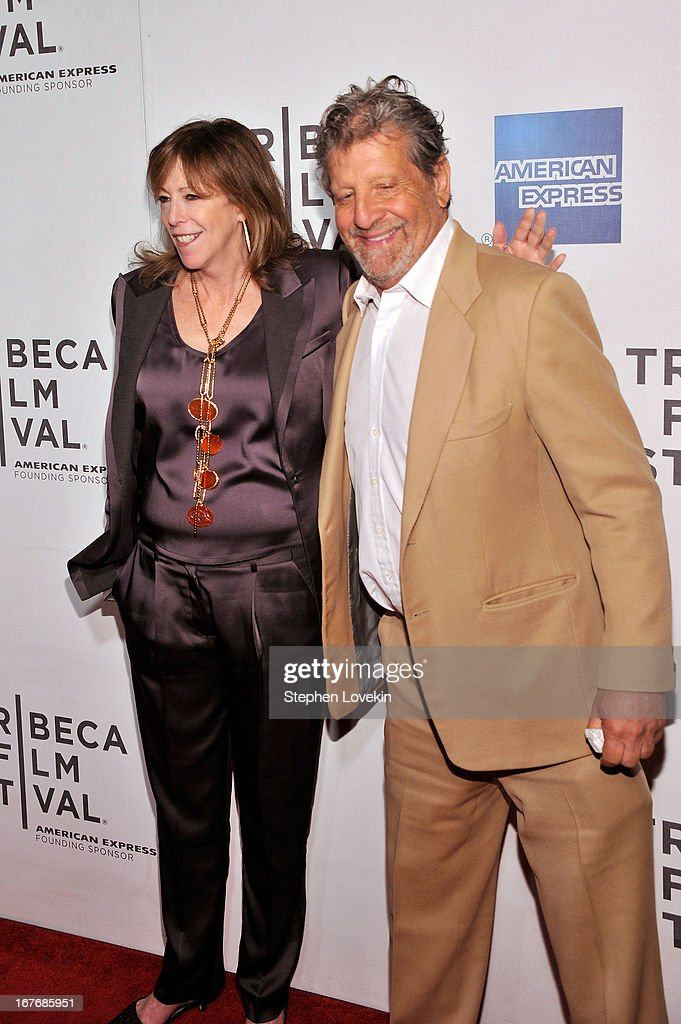 Co Founder of the Tribeca Film Festival, Jane Rosenthal and guest attend 'The King of Comedy' Closing Night Screening Gala during the 2013 Tribeca Film Festival on April 27, 2013 in New York City.
