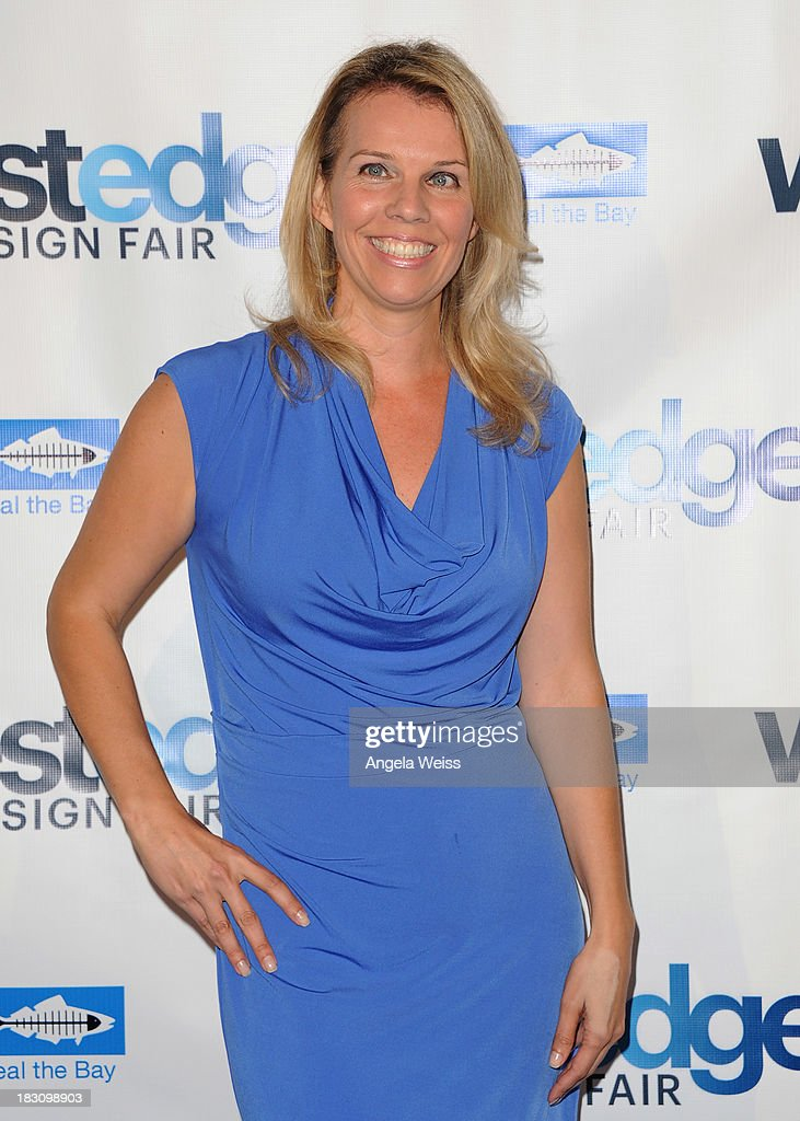 Co Founder of WestEdge Design Fair Megan Reilly attends the WestEdge Design Fair opening night benefiting Heal the Bay at Barker Hangar on October 3, 2013 in Santa Monica, California.