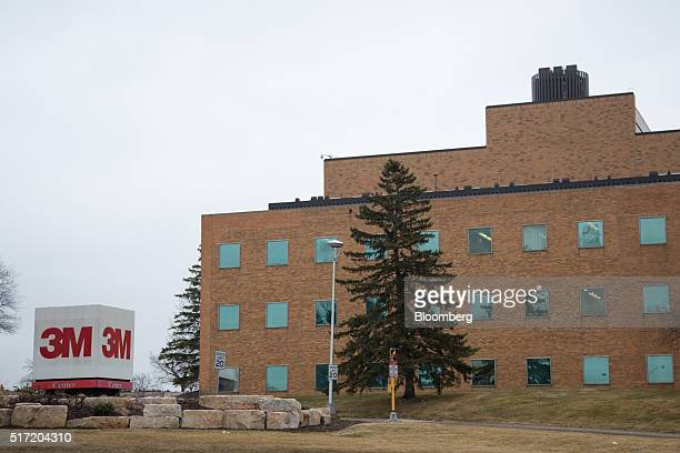 3M Co headquarters stands in St Paul Minnesota US on Wednesday March 9 2016 3M the maker of Postit notes and Scotch tape generates about twothirds of...